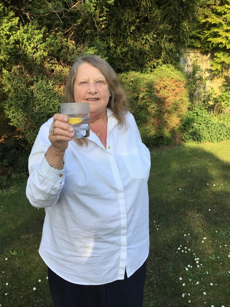 Mary with G&T